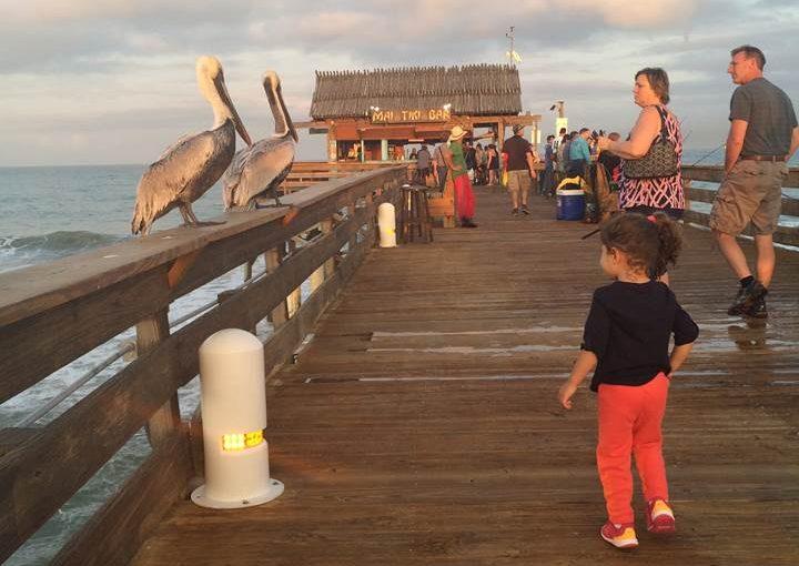 Cocoa Beach, Flórida: praia, surf e píer, pertinho do Porto Canaveral e da Disney