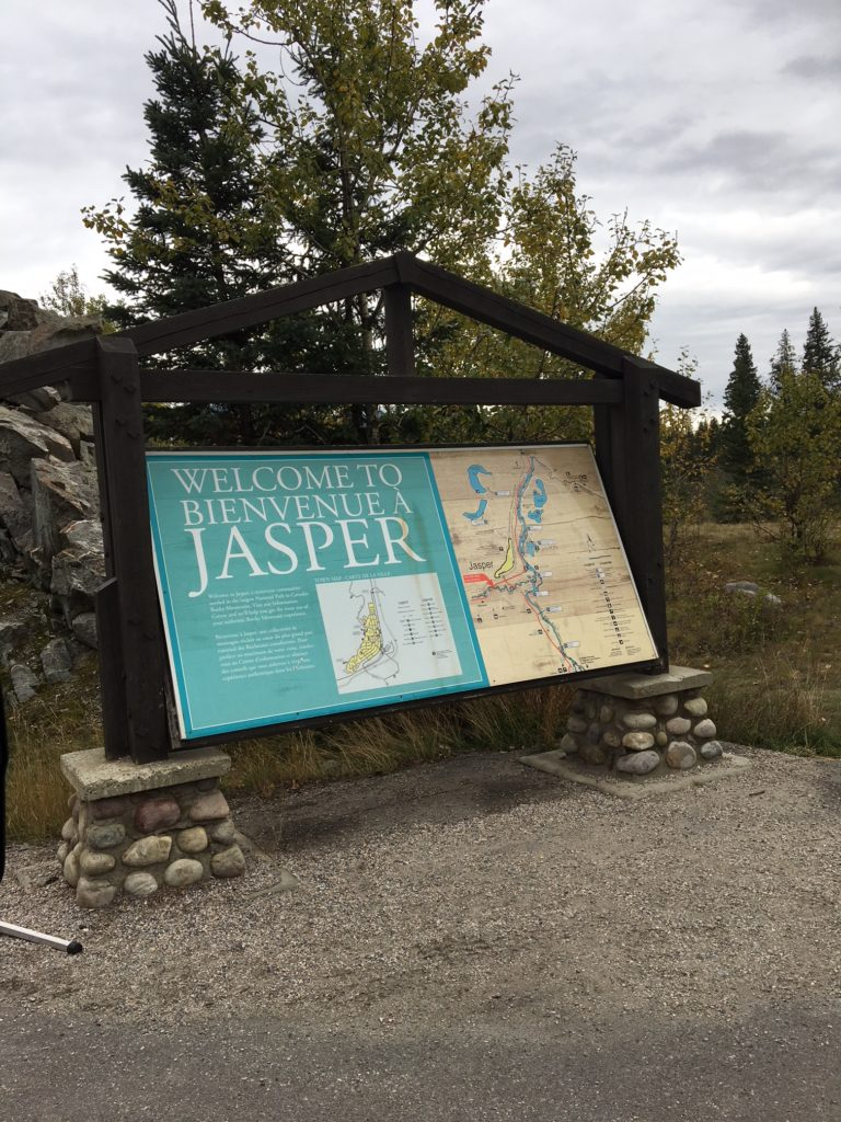 Jasper National Park, Alberta, Canadá.