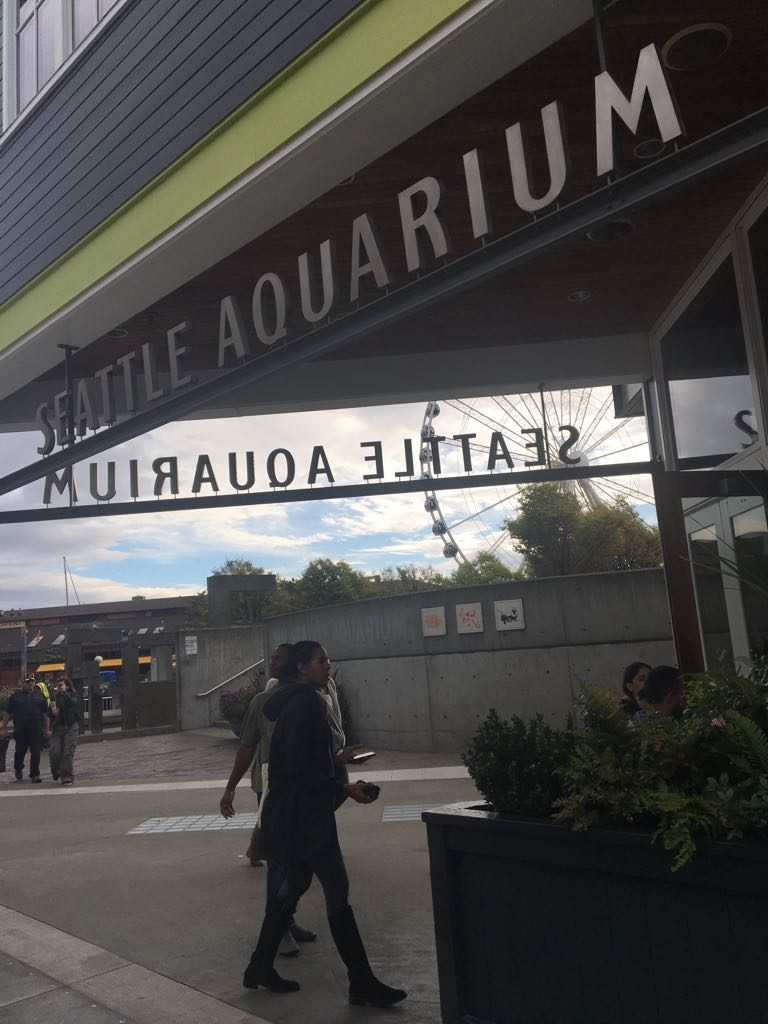 Entrada do Seattle Aquarium