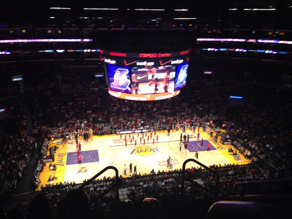 Staples Center, casa dos Los Angeles Lakers